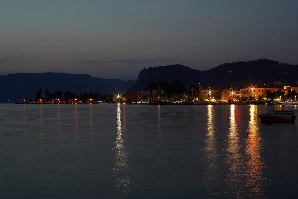 Bardolino bei Nacht